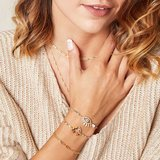 Bracelet Chained Up goud
