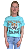 T-Shirt Live to Ride Mint