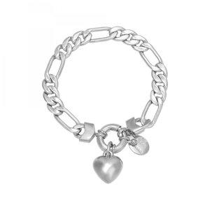 Bracelet Chain Mara zilver